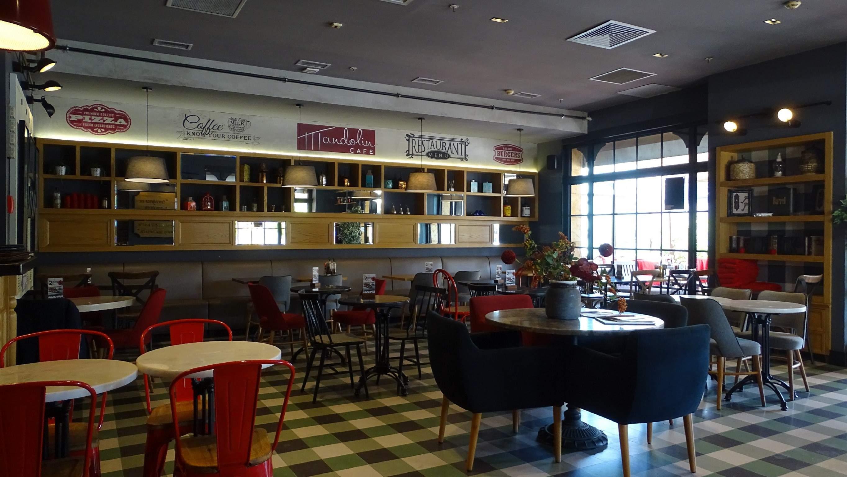 Mandolin Cafe Forum Bornova - FİM Mobilya & Dekorasyon