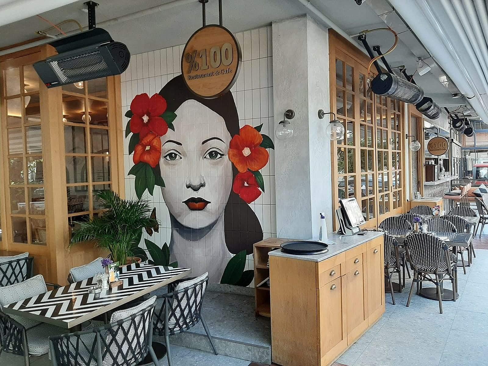 %100 Rest. Cafe & More / Alsancak Yeni Proje